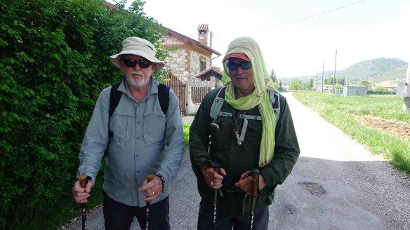 Ken and Bill like lawrence of arabia
