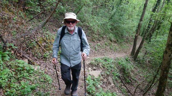 Ken climbing track