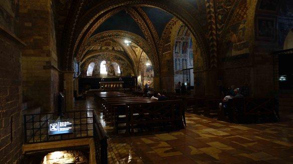 Lower in Basilica