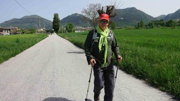 Me leaving Gubbio