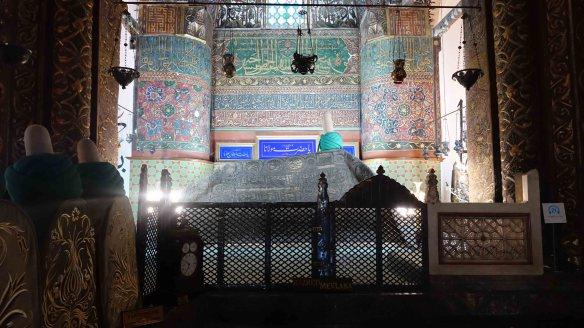 Rumi's tomb.clear