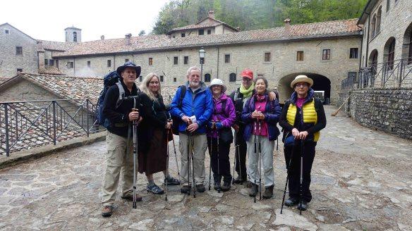 The group at La Verna