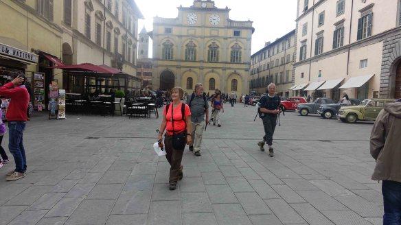 Walking through CdC square