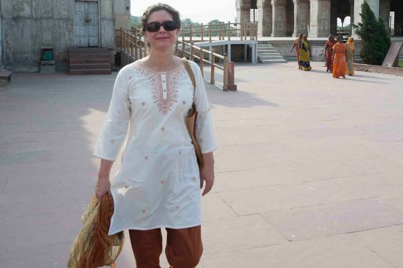 Jen at Red Fort.MS