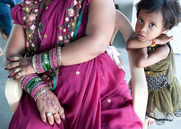 Mother bangles and child.1