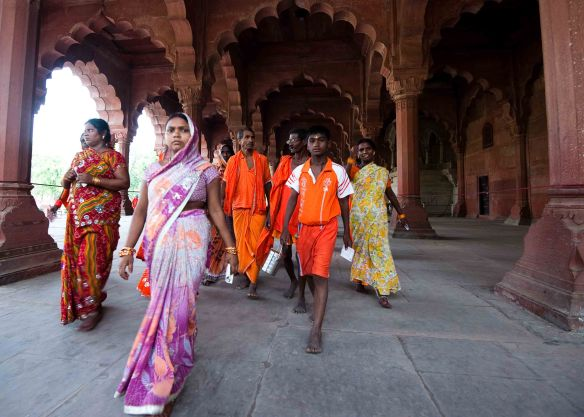 Women at Red Fort