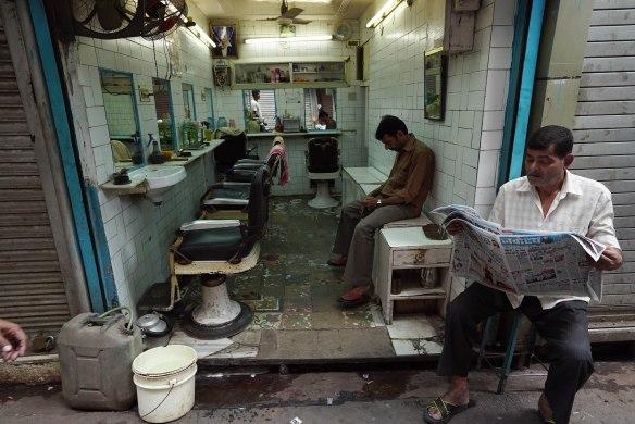 Barber shop Delhi