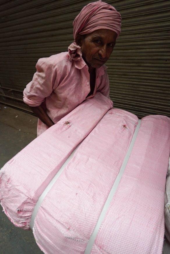 pink man