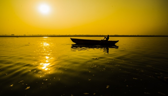 Dawn on Ganges, Varanasi