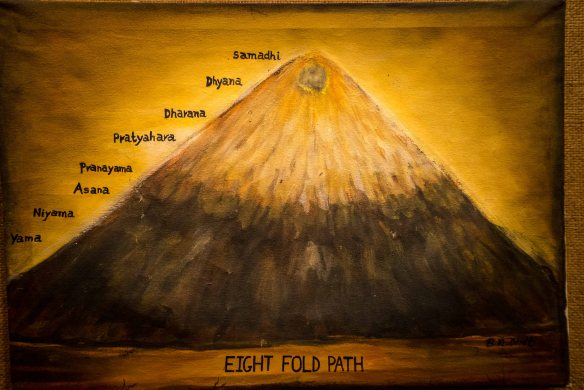 Eightfold yoga path