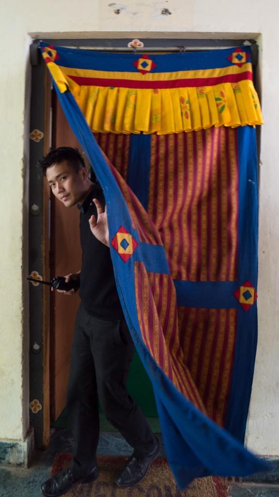 Market worker, Thimphu Bhutan