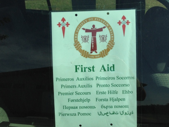 First Aid Sign in 12 languages