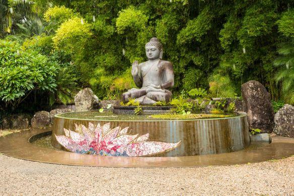 Crystal Castle Buddha statue-1