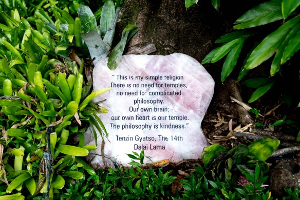 Crystal Castle Dalai Lama stone-1