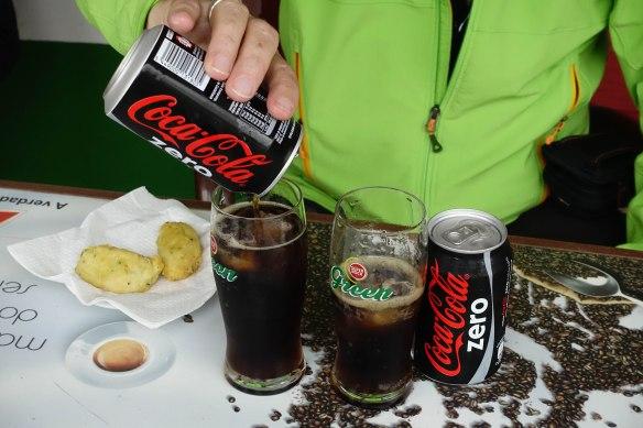 2 coke zeros-1