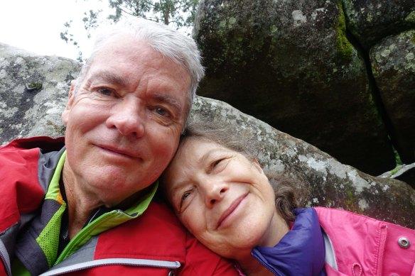 Bill and Jennifer at St James mount-1