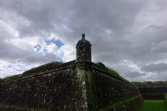 Fort against skies-1