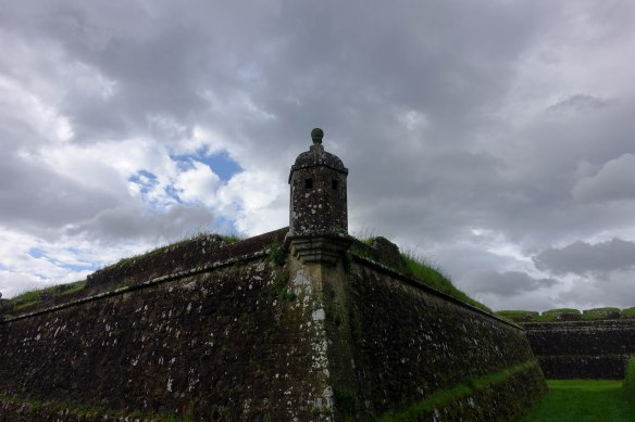 Fort against skies-1