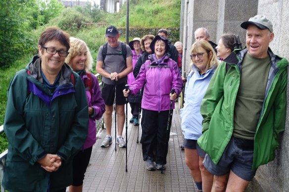 group at start of bridge-1