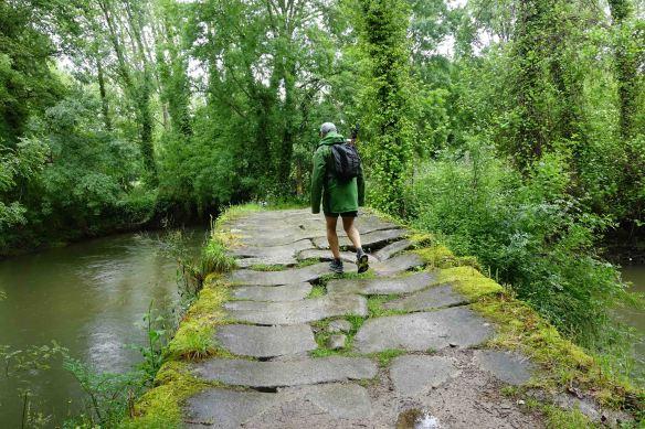 Ian crossing bridge -1