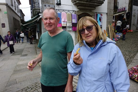 Neville and Vivienne in Valence-1