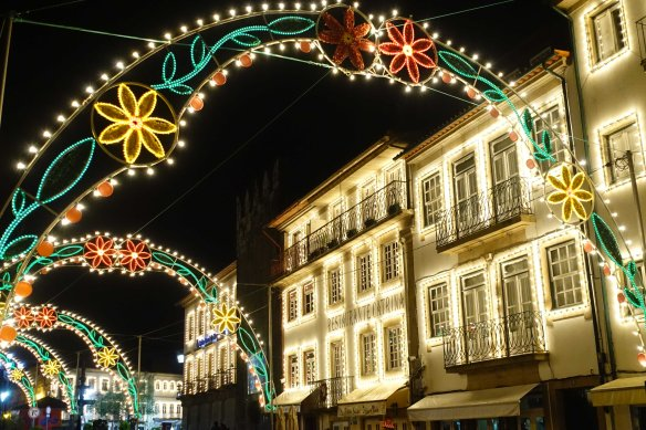 town lit up-1