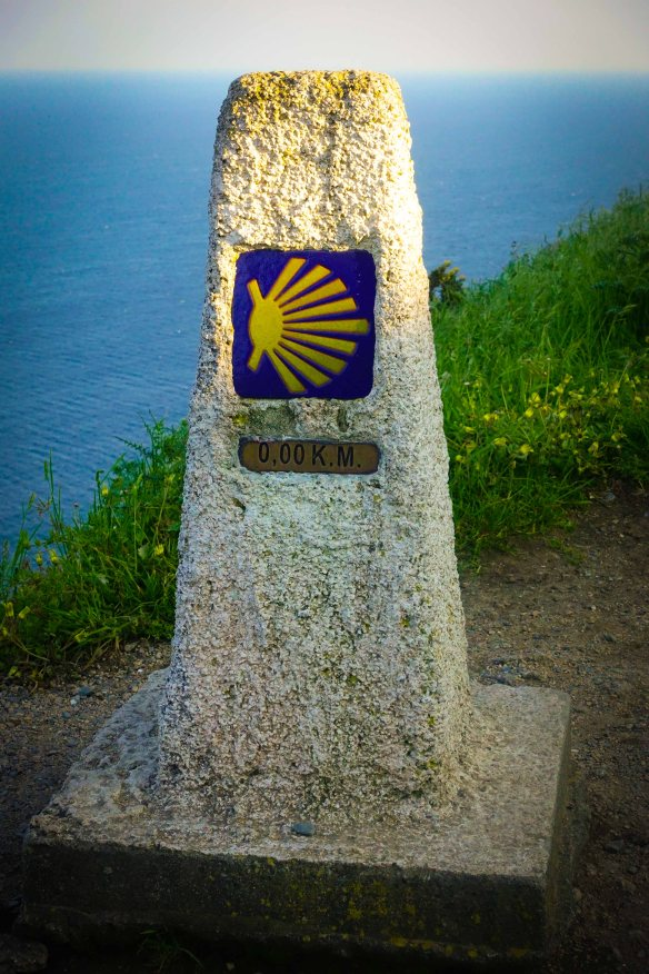 zero marker on Finisterre-1