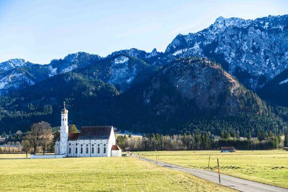 white-church-on-plain